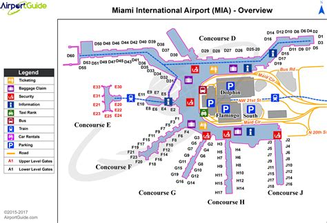 airport map miami miami international airport terminal maps travelwidget