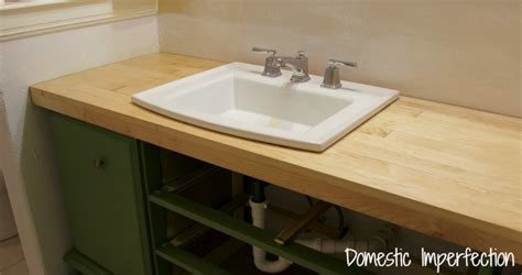 diy wood flooring countertops bathroom remodel build a counter out of wood flooring