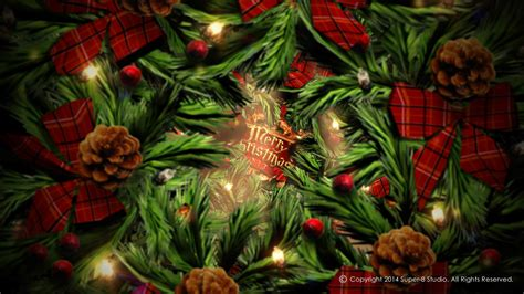 spirit  christmas videohive template     effects template