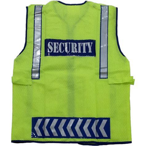 Rompi Scotlite Security All Size jual safety vest baju rompi proyek pengaman security hijau nankai gerai perkakas