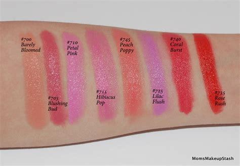 maybelline color sensational rebel bloom lipsticks photos swatches makeup stash