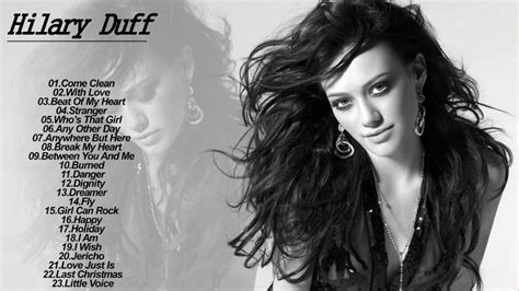 hilary duff best of hilary duff best of album collection hilary duff