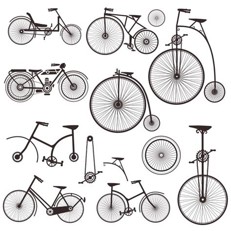 cdr bike bicycle vector retro bike images cdr eps