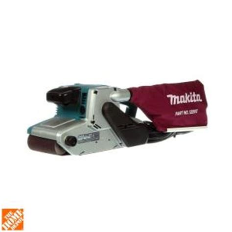 makita 4 in x 24 in belt sander 9404 the home depot
