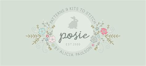 Home Studio Design Tips by Branding Details For Posie A Craft Business Aeolidia