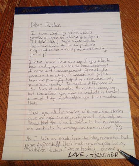 Letter Notes handwritten note dear