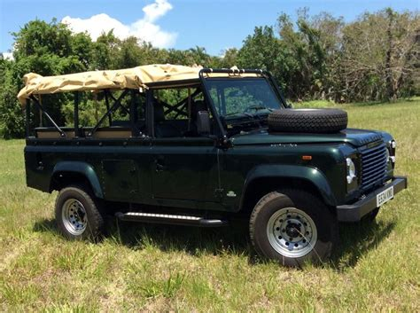 land rover defender convertible 1987 land rover defender 110 convertible for sale 1836035