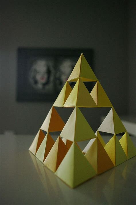 Tetrahedron Origami - photos on