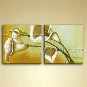 Paintings For Home Decor contemporary abstract wall art oil floral painting bathroom home decor