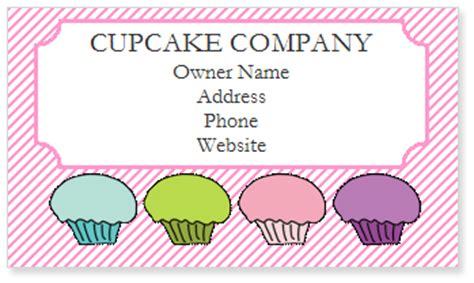disney business card template cupcake business invoice template studio design