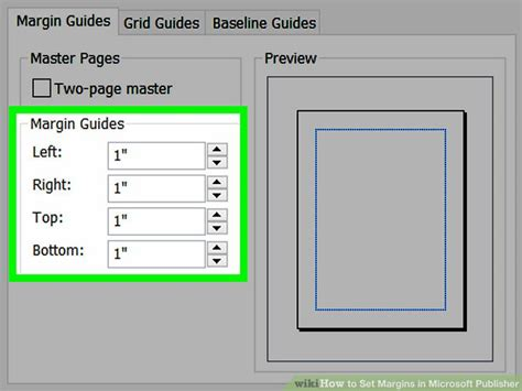 layout guides in publisher 2010 3 ways to set margins in microsoft publisher wikihow