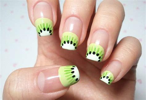 interesting fruit nail designs