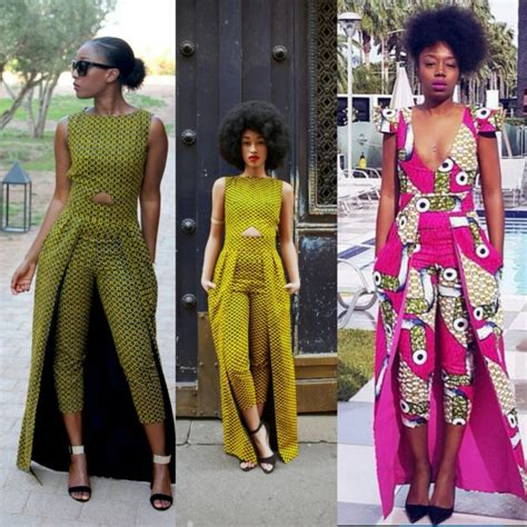 jumpsuit with ankara these ankara jumpsuit styles will look good on you