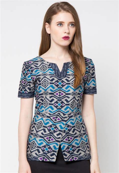 gambar model baju batik modern gambar model baju batik lurik modern baju terbaru baju