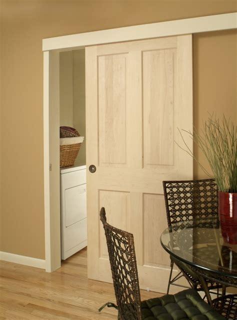Johnson Hardware Sliding Door sliding door saves floor space decor hacks