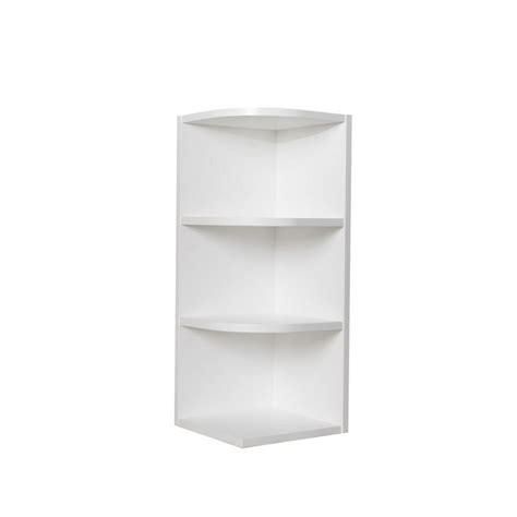 open shelf wall cabinet bremen ready to assemble 12x30x12 in shaker wall end open