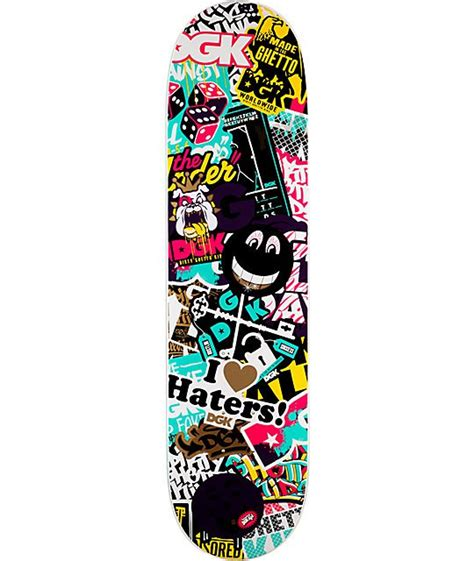 skateboard deck construction dgk collage 7 8 quot skateboard deck skateboard decks