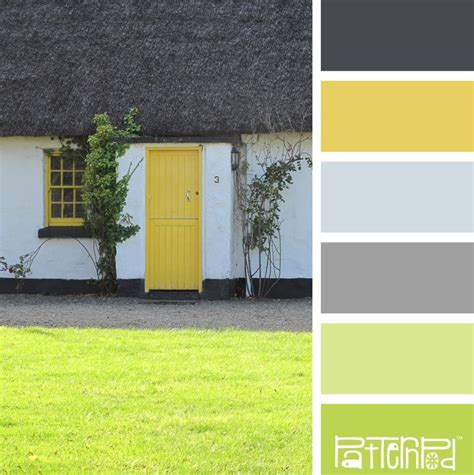 paint colors yellow green 184 best color palettes images on color