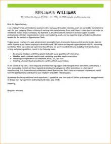 Cover Letter For Admin by Admin Assistant Cover Letter Sle Business