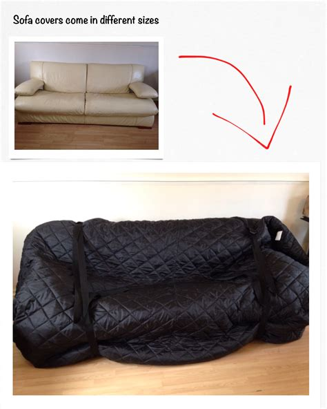 couch cover for moving moving sofa cover house removals swindon