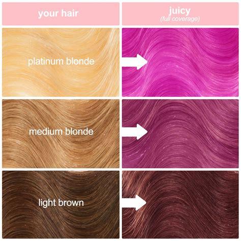 fuchsia hair color fuchsia vegan hair dye lime crime