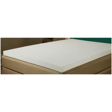 foam bed topper adaptaflex 3 quot memory foam mattress topper 625845