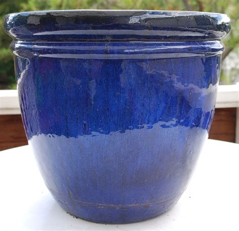 Glazed Planters Large by Blue Glazed Planters Large Search Deck