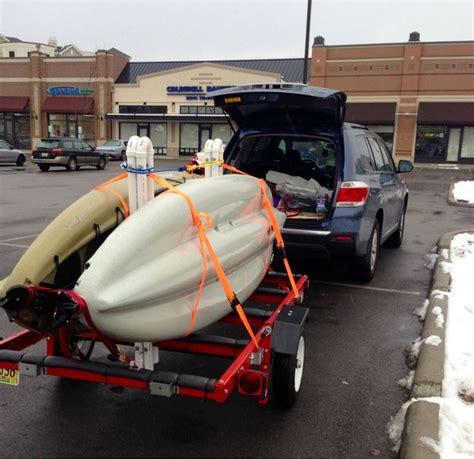 boat trailer ideas 25 best ideas about kayak trailer on pinterest diy