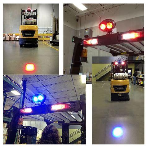 blue warning lights on forklifts forklift warning light blue red light forklift safety