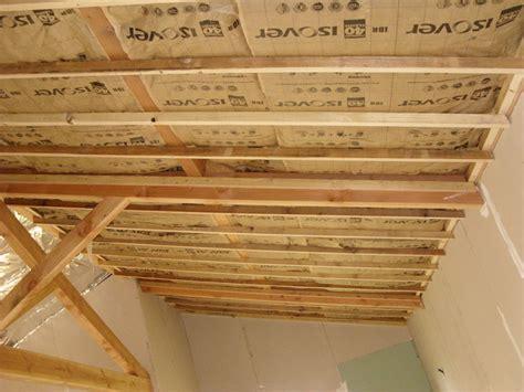 dalle de plafond 2008 isolation plafond rempant notre cabane en bois