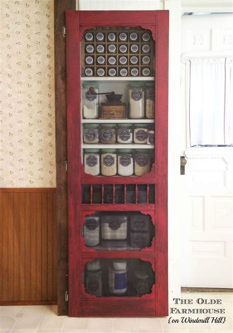 diy farmhouse pantry  door projects wooden screen