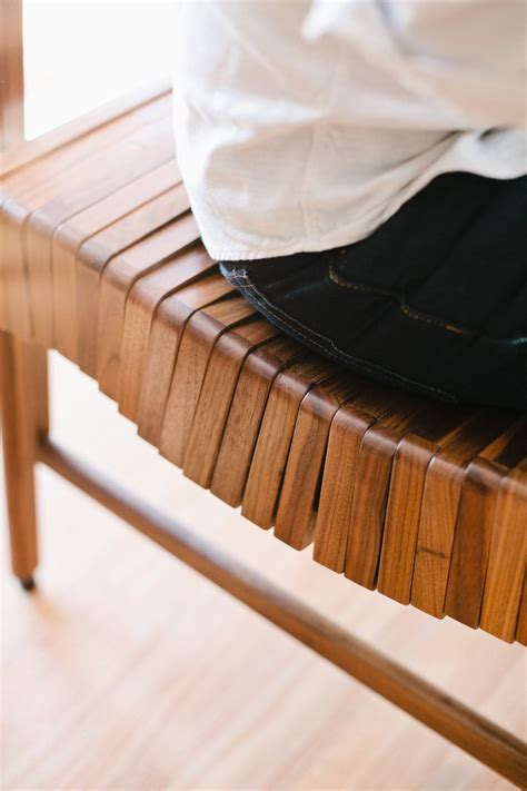unique wood benches unique wood bench that will follow the shape of your body