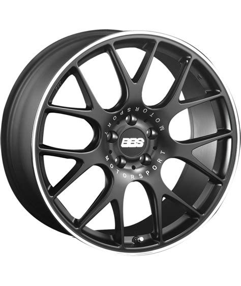 bbs matte black bbs ch r 20x8 5 5x108 matte black with stainless steel