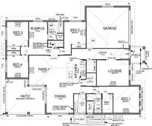 House Plans With Large Kitchens And Pantry by Floor Plan House Design 4 Bedrooms Theatre Room