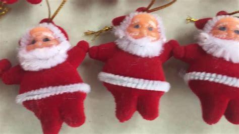 christmas santa claus ornaments festival xmas tree hanging