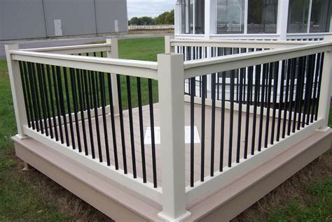 black banister white spindles white deck railing with black balusters home design ideas