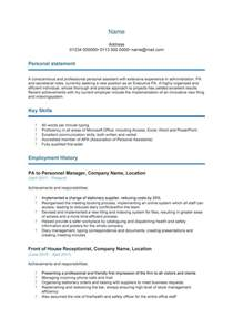 Template Curriculum by 48 Great Curriculum Vitae Templates Exles Template Lab