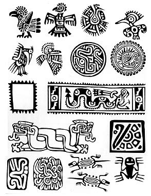 imagenes simbolos mayas significado s 237 mbolos mayas m 225 s pinterest s