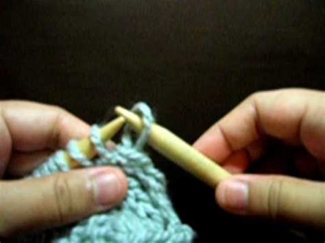 how to start knitting row knit start row