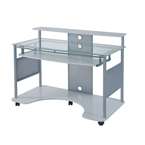 z line designs desk z line designs mobile workstation desk white by office