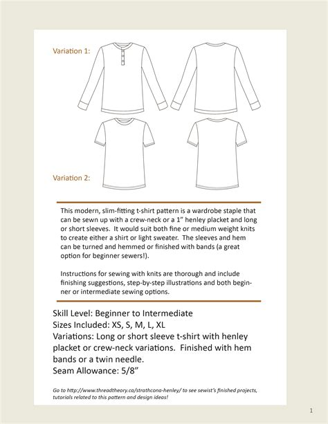 sewing pattern henley shirt launch day the strathcona henley and t shirt thread theory