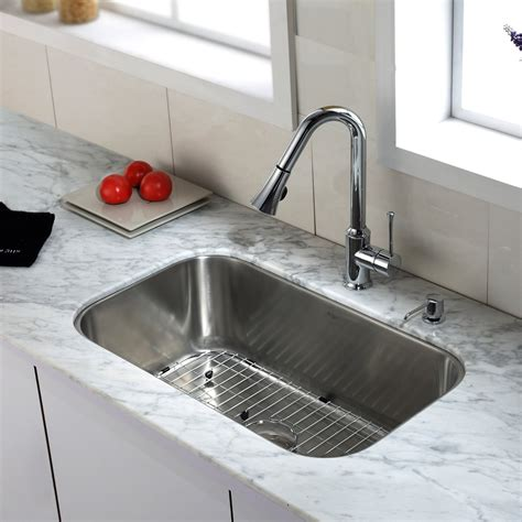 kitchen sink and faucet universal granite marble chicago il detroit mi