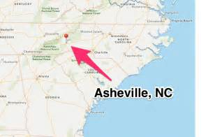 carolina map asheville travel thru history things to do in asheville