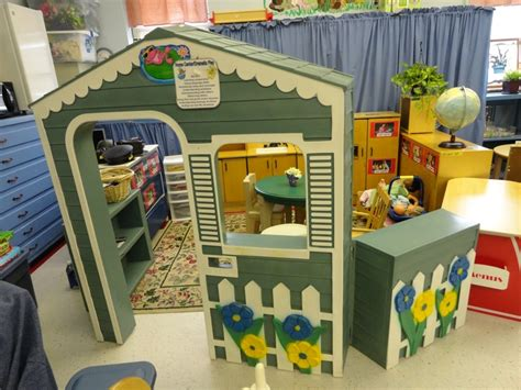 1 yonge 4th floor front view of our dramatic play center the house wall is