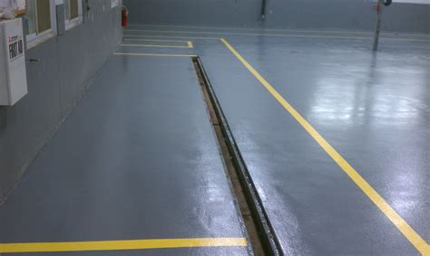 Garage Floor Drain Systems by Industrial Flooring Contractor Ct Epoxy Concrete Finishing