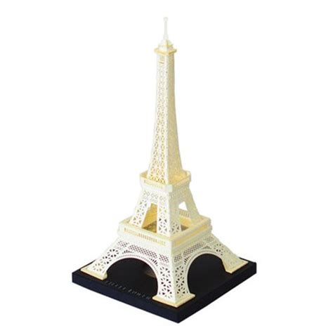 Eiffel Tower Papercraft - eiffel tower paper nano model kit schylling landmarks