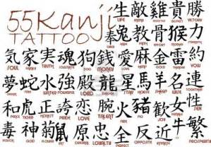 Tattoo Ideas Arabic Words And Phrases Kanji Tattoos Designs And Ideas Page 5