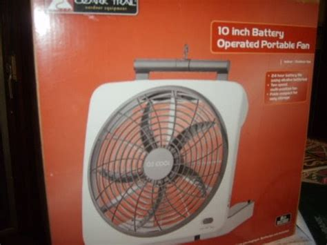 02 cool necklace fan battery operated fans ozark trail o2 cool 10 inch battery