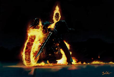 Ghost Rider Bike Live Wallpaper by Ghost Rider By Mightygodofthunder On Deviantart