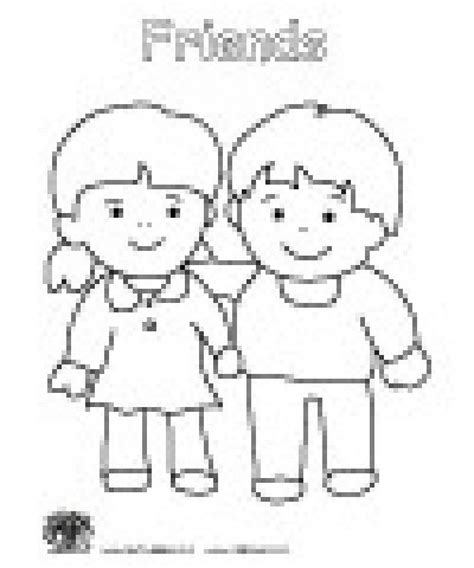 Friendship Coloring Pages For Preschool Friendship Friendship Coloring Pages For Preschool